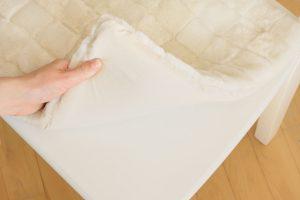 Възглавница за стол от естествена кожа - бяло