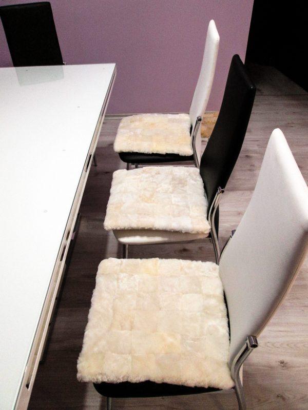 Подложка за стол - бяло